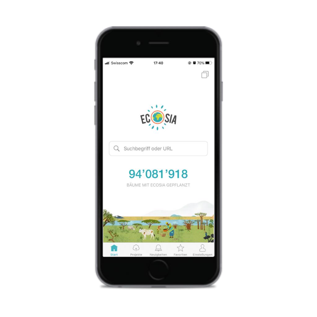 Vorschau der App Ecosia