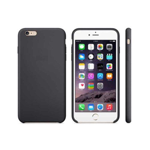 Silikon Gel Hülle für das iPhone 6 schwarz