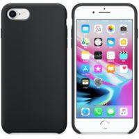 Silikon Gel Hülle für das iPhone 7 schwarz