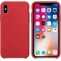 Silikon Gel Hülle für das iPhone X/Xs rot
