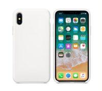 Silikon Gel Hülle für das iPhone X/Xs weiss