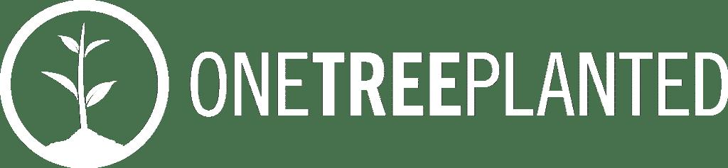 Logo Onetreeplanted Bäume pflanzen mit Handy Reparaturen
