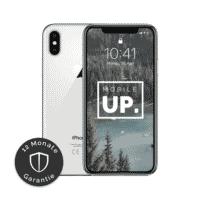 Apple iPhone X Silver gebraucht von mobileup